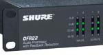Shure DFR22 2-Channel Audio Processor with Feedback Reduction