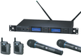 Audio-Technica AEW-5415a Dual System - pairs of body-pack & handheld