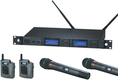 Audio-Technica AEW-5416a Dual System - pairs of body-pack & handheld
