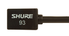 Shure WL93 Subminiature Lavalier Microphone